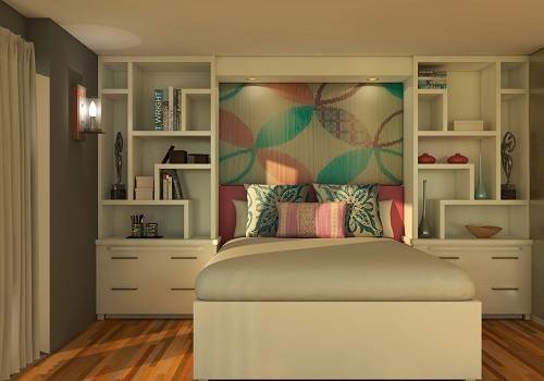 neutral accent room for girls