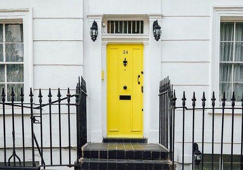 yellow composite door