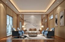 A stylish living room area with detail orientated lighting. This is one of the looks that can be achieved by following this guide to transforming your home on a budget